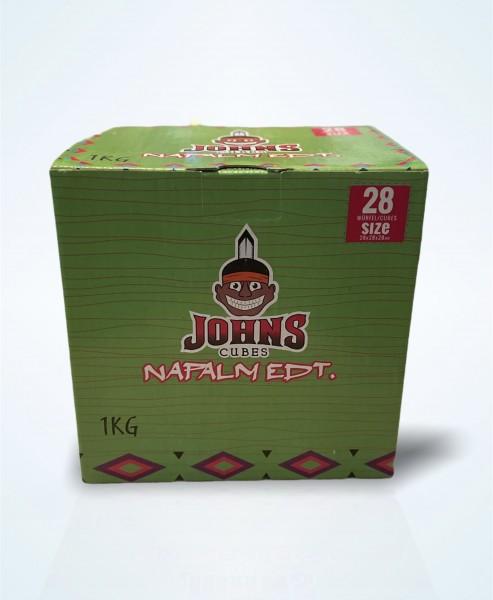 Johns Cubes - 1Kg Naturkohle
